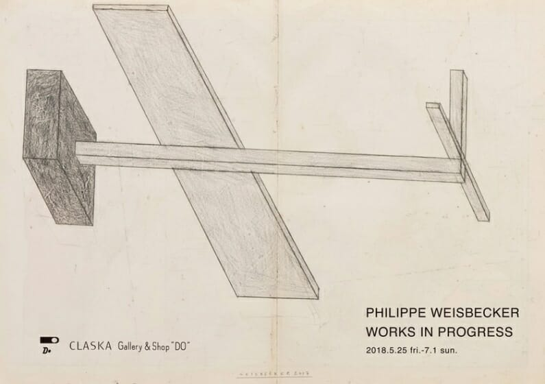 PHILIPPE WEISBECKER WORKS IN PROGRESS