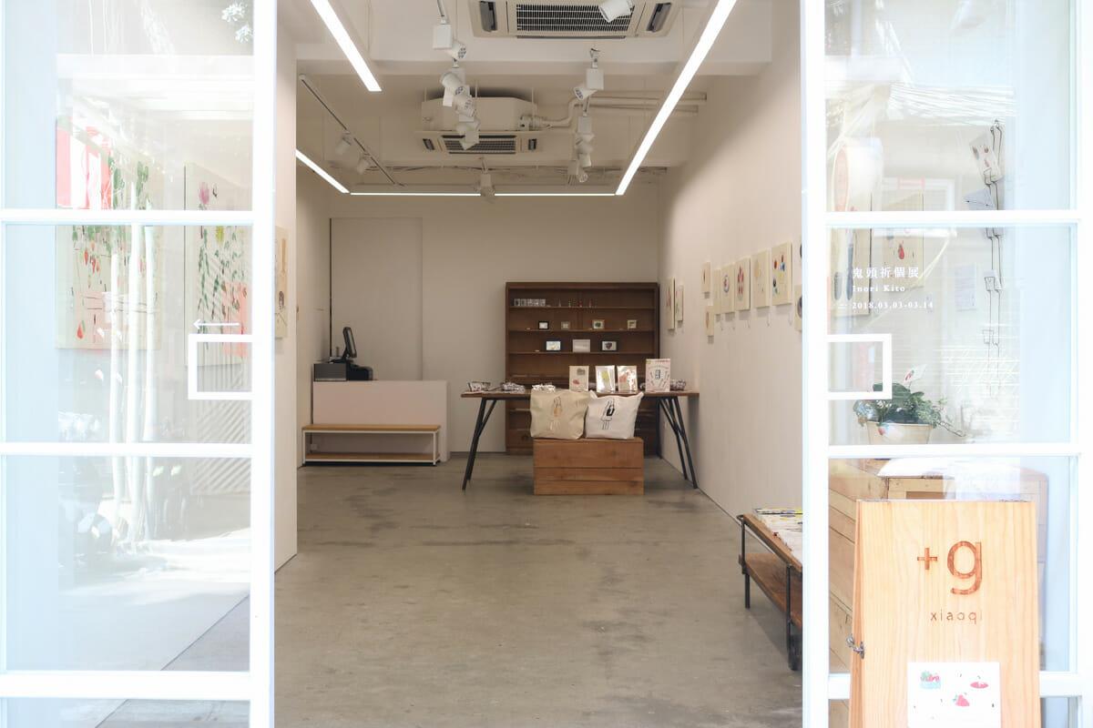 台湾の「小器藝廊(xiaoqi+g)」で行なわれた「鬼頭祈個展」 ©xiaoqigallery+g