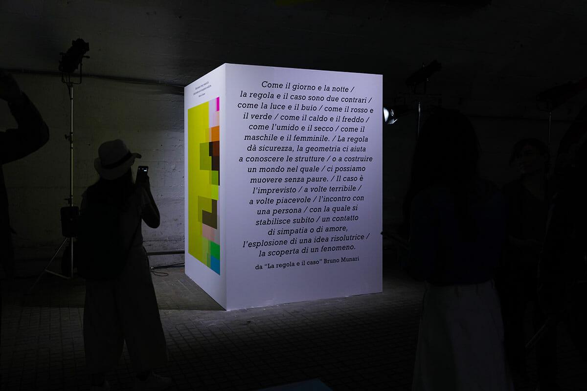 ミラノデザインウィーク2018 言葉とともに展示された作品の画像