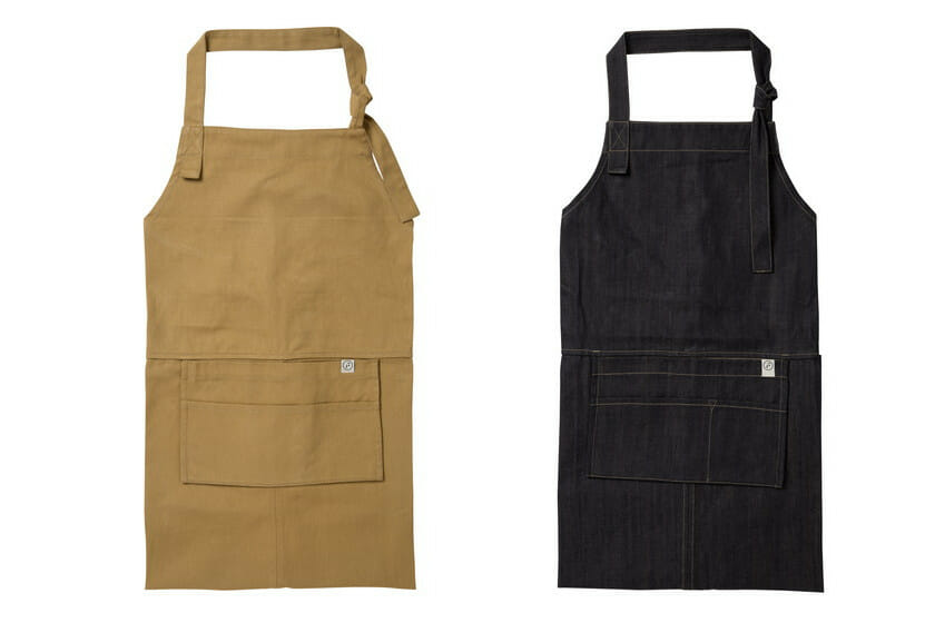 PACKABLE APRON(エスプレッソ、デニム)