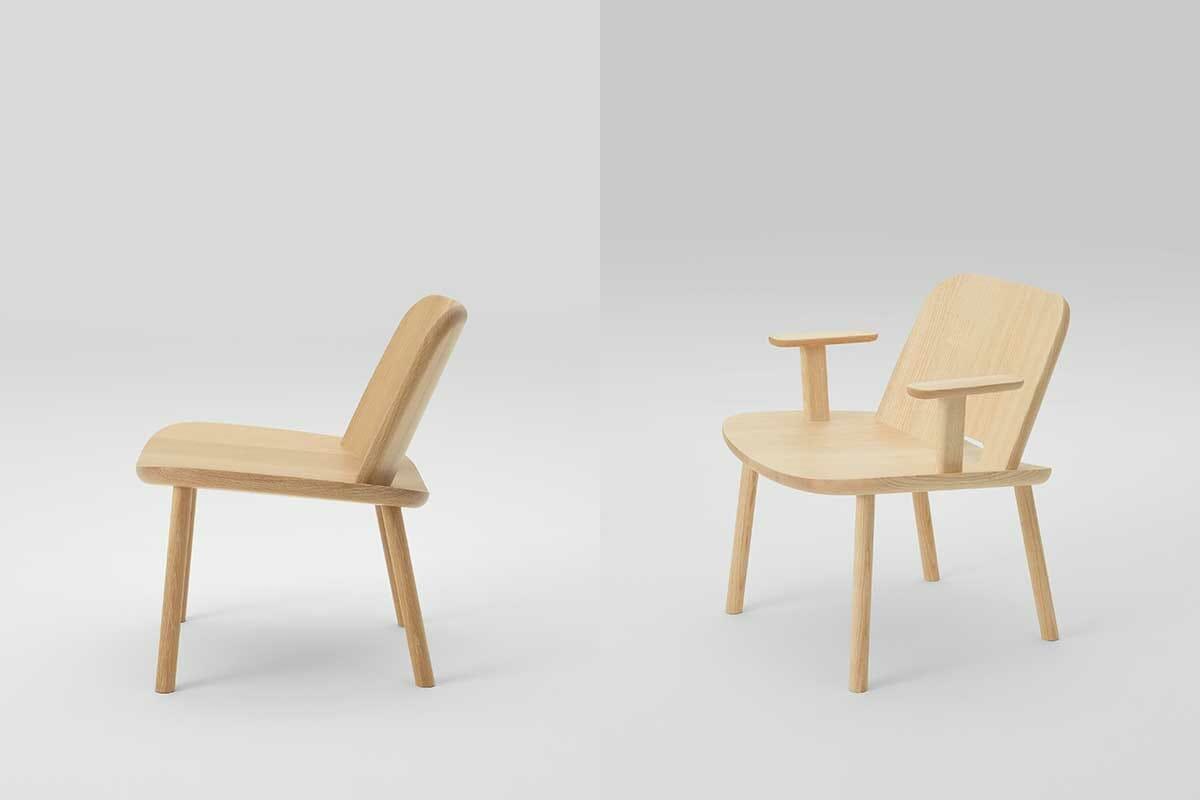 ジャスパー・モリソンのデザインによる新作「Fugu」、(提供:株式会社マルニ木工、写真:川部米応)
