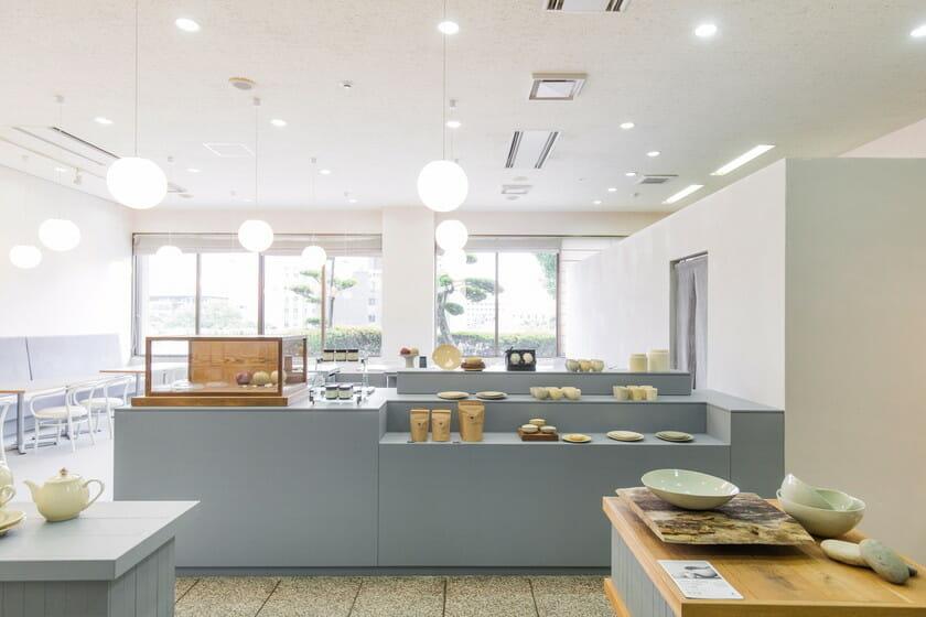 チンジュカンポタリー喫茶室」店内画像