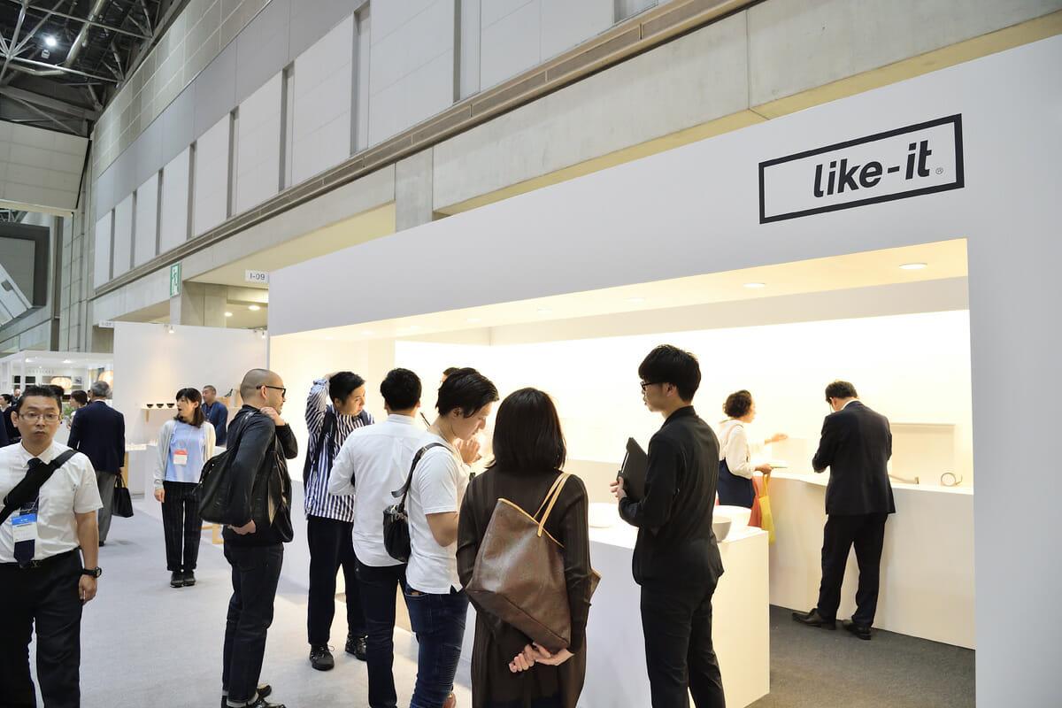 like-itの展示ブース