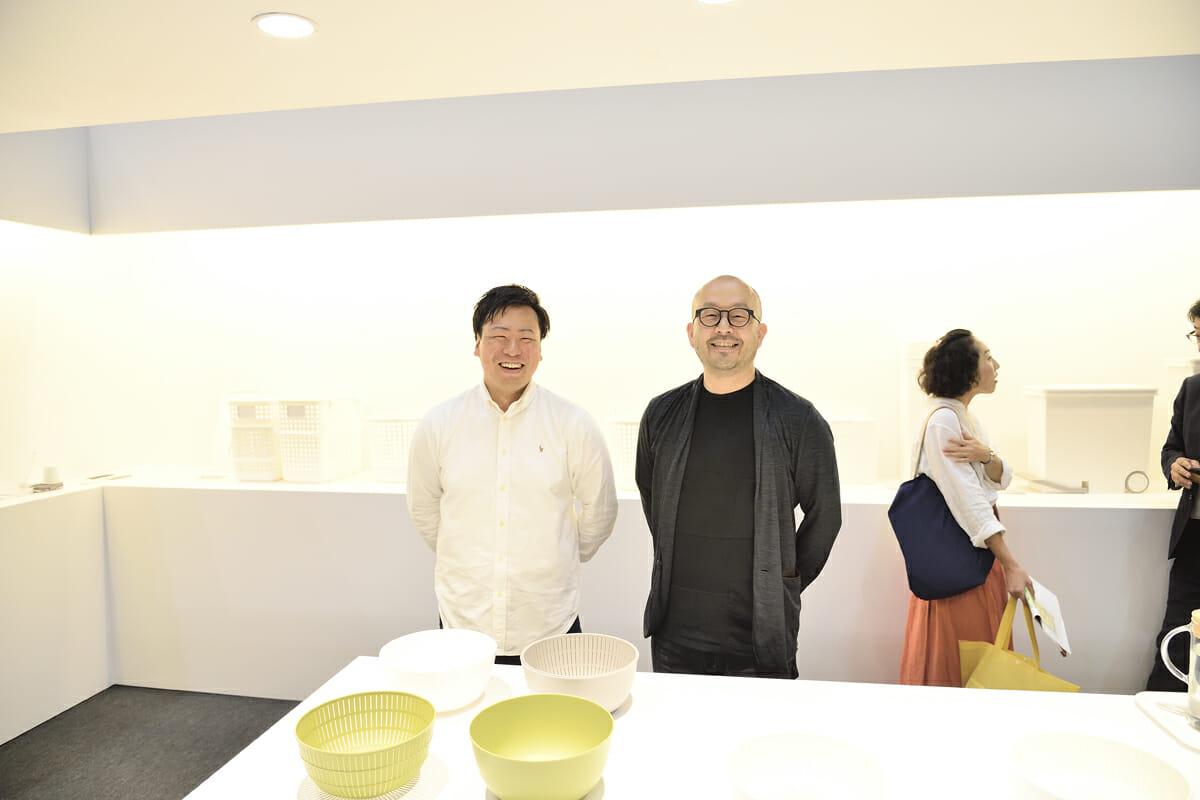 ライクイット 株式会社 吉川和希さん(左)とデザイナーの小関隆一さん