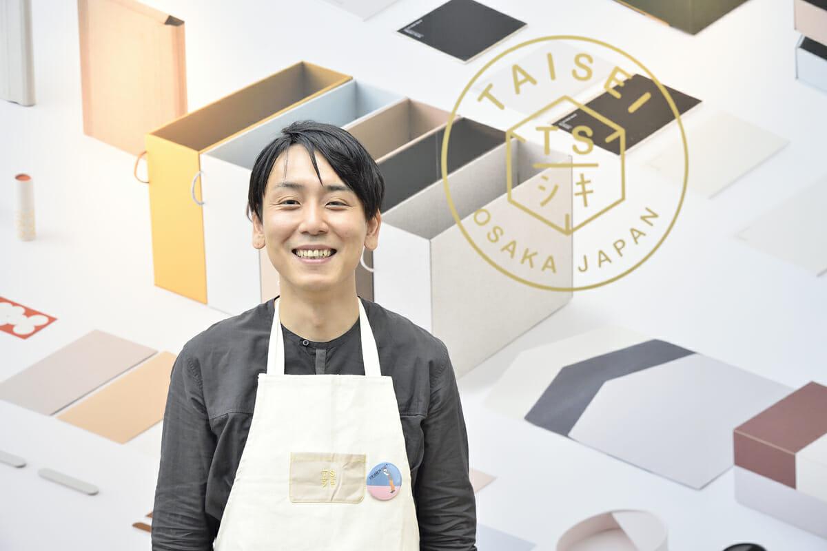 大成紙器製作所 ブランドマネージャーの山岡宏輔さん