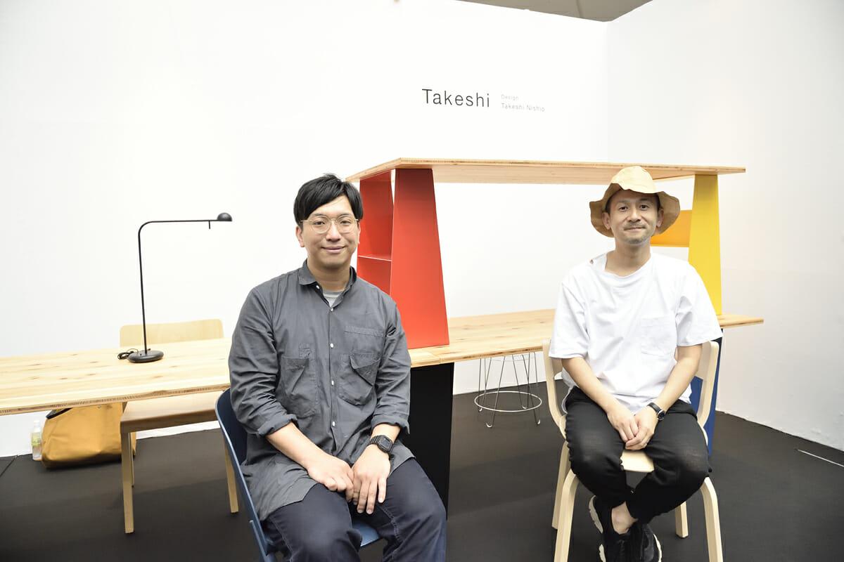 DAYS.の西尾健史さん(左)、FIELディレクターのAcht田中敏憲さん