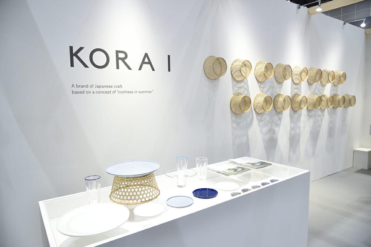 『KORAI』展示ブース