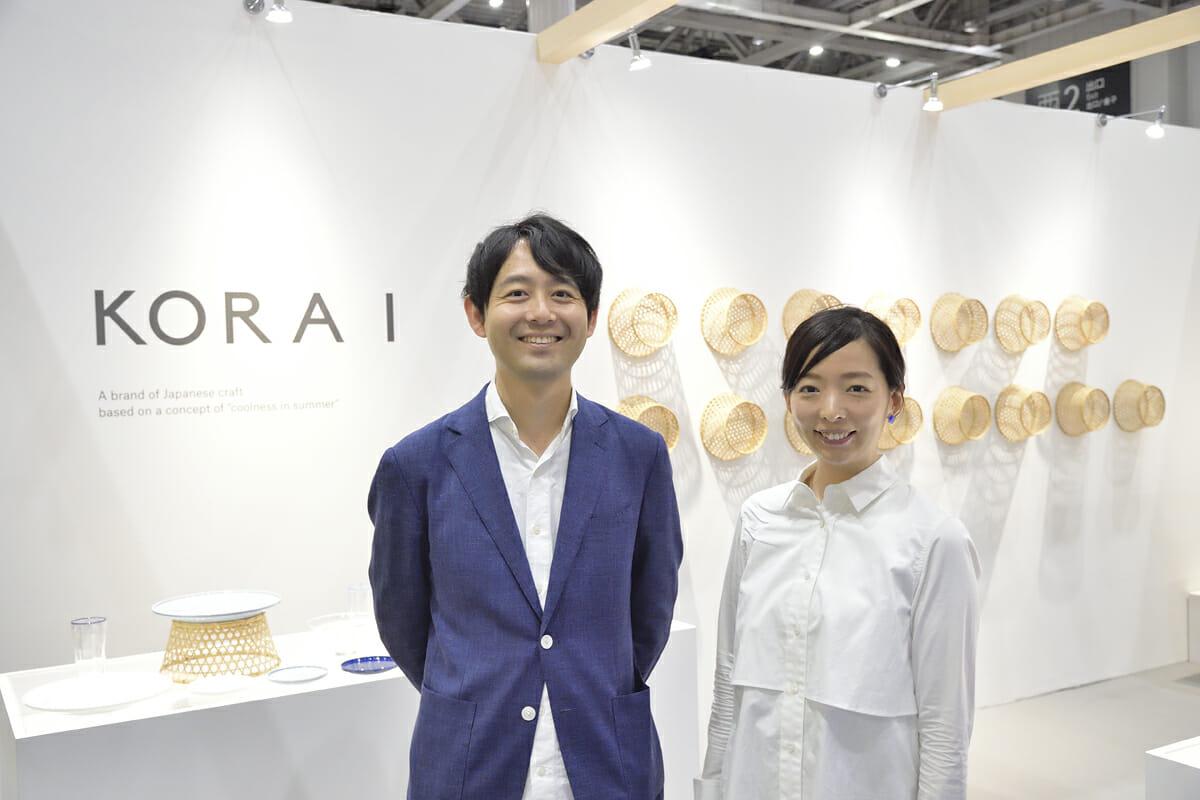 株式会社HULS 代表取締役の柴田裕介さん(左)、プロダクトデザイナーの辰野しずかさん