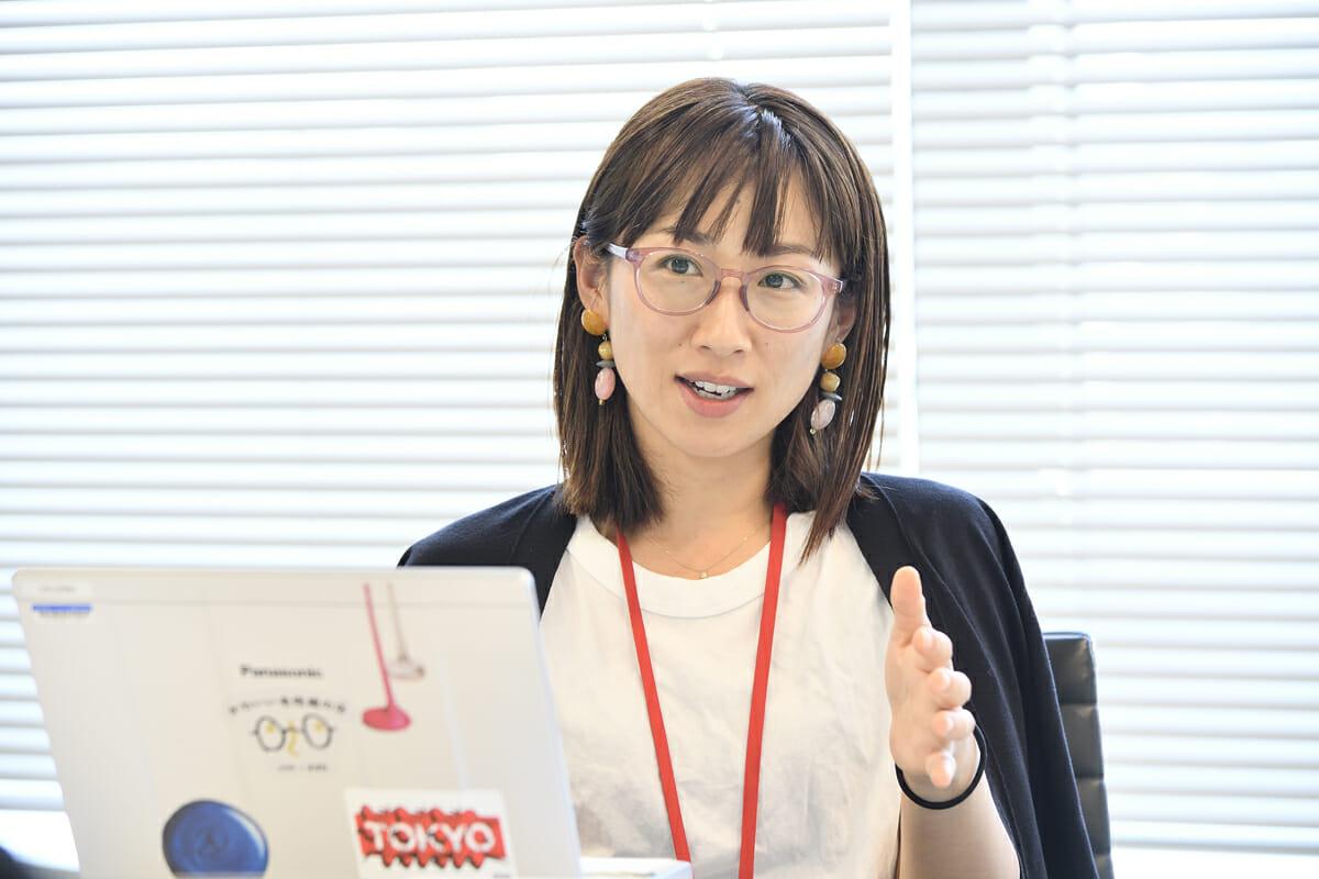 株式会社ジンズ ブランドマネジメント室 柳原磨里さん