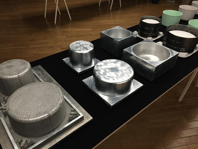 藤城成貴「mix」 イベントにて展示されていた制作工程の画像