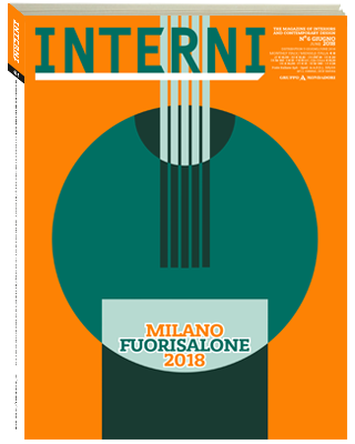 「INTERNI」 2018年フォーリサローネ特集号の表紙画像