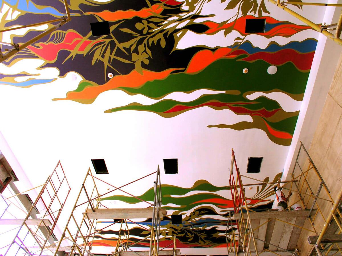 """SUNTORY MEXICO""""Shu""""_壁画制作 / 2008"""