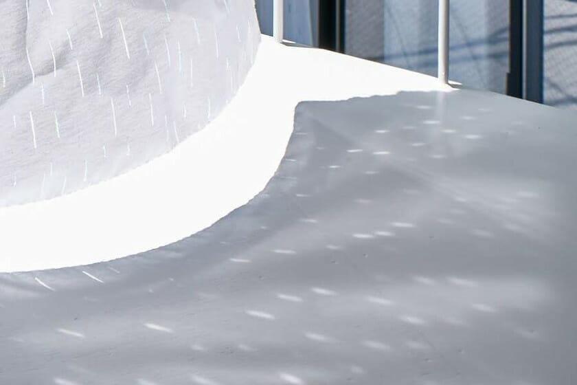 """テキスタイルデザインチーム「pole-pole」による展示会「pole-pole textile labo 003 """"emerge""""」が、8月30日からCASE GALLERYで開催"""