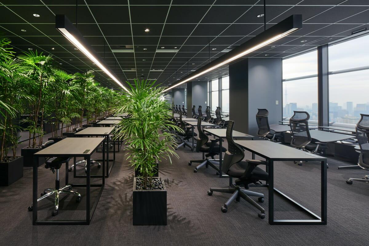 ジンズ本社の階下に生まれた会員制ワークスペース「Think Lab」