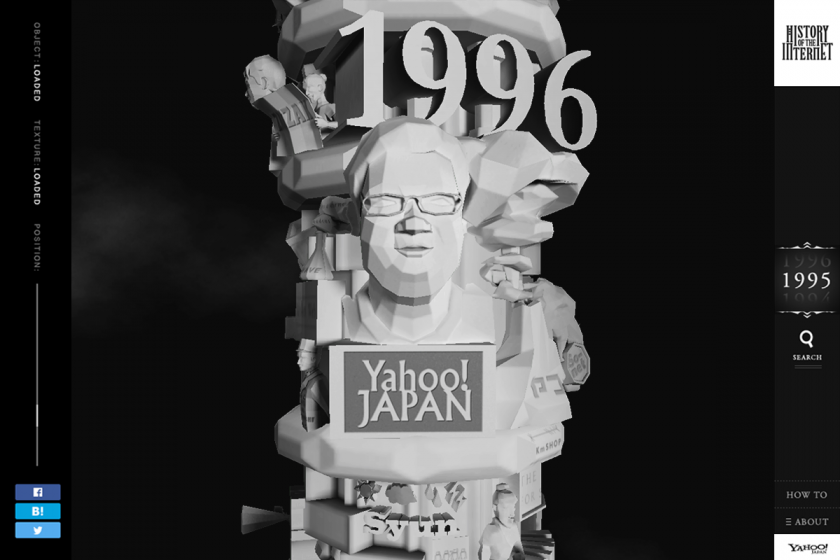 Yahoo! JAPAN「HISTORY OF THE INTERNET ~インターネットの歴史~」 (1)