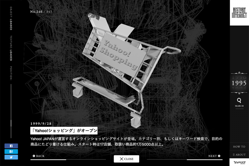 Yahoo! JAPAN「HISTORY OF THE INTERNET ~インターネットの歴史~」 (4)