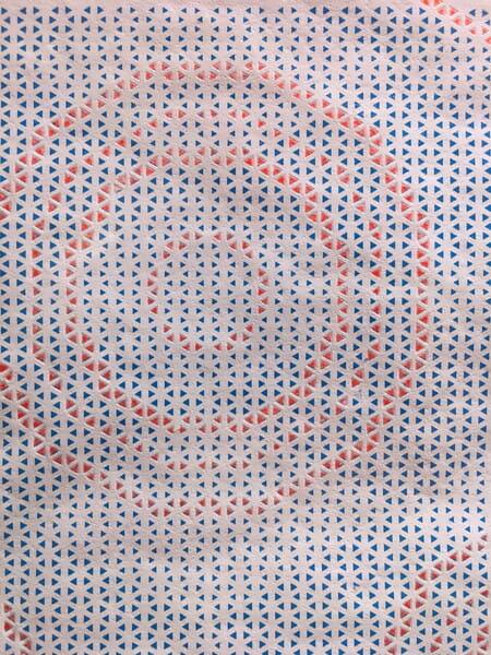 宮前陽さんの作品「MELT」。溶かした後