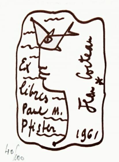 EX-LIBRIS de l'ecole de Paris