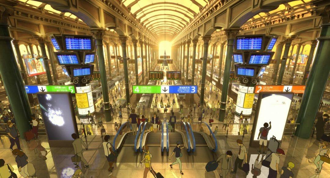 未来の東京駅