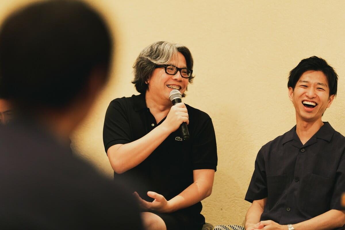 中村勇吾さん(左)、後藤映則さん(右)