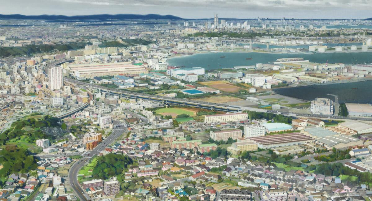 物語の舞台は横浜市の磯子区と金沢区あたりをイメージ