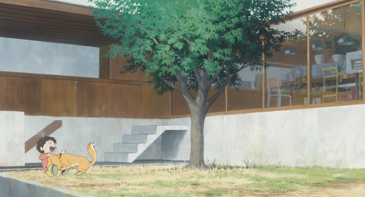 『未来のミライ』全編で重要な役割を果たす中庭