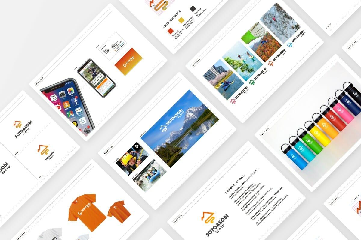 デザインパターンごとにイメージボードを作成し、ロゴ・VIのブランド設計を進めた