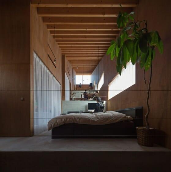 5層のワンルーム住居 (2)