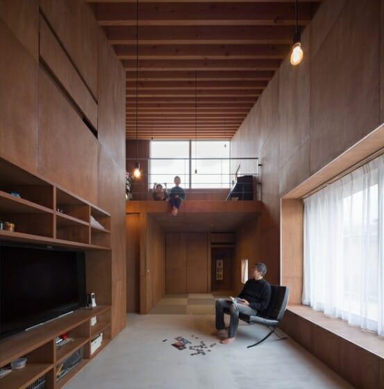5層のワンルーム住居 (5)