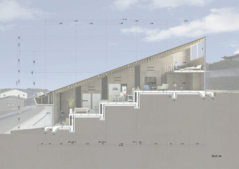 5層のワンルーム住居 (7)