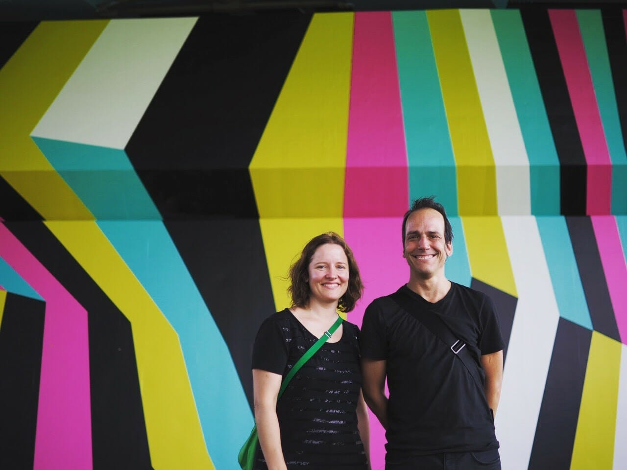 ラング&バウマン<br />サビナ・ラングとダニエル・バウマンという二人のスイス人アーティストによるユニット。構造物、建築と作品がどのように作用しあうのかに着目し、展示空間そのものを変換、鑑賞者を作品の一部に取り込む制作を得意としている。