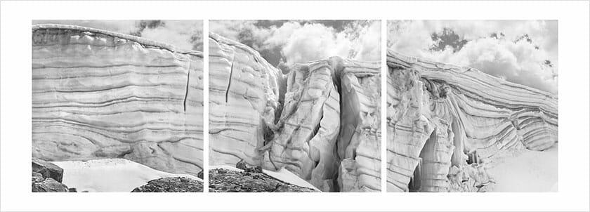ダニエル・シュワルツ写真展-de glacierum natura