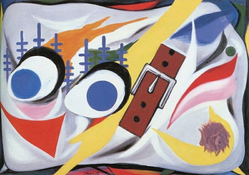 岡本太郎《犬》1954年 川崎市岡本太郎美術館蔵