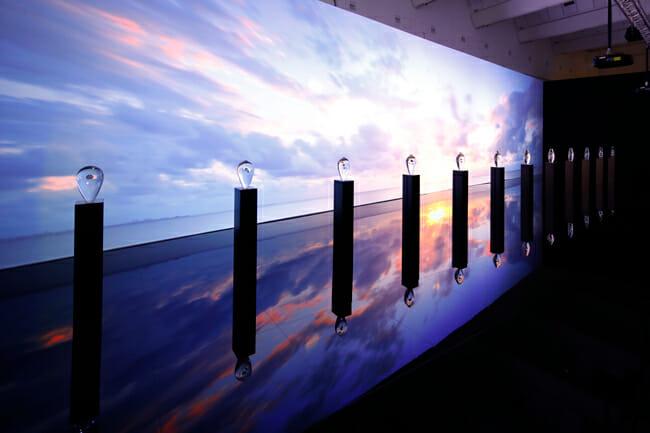 ウオッチブランド『グランドセイコー』がミラノデザインウィークで発表した、『THE FLOW OF TIME』の東京展開催が決定