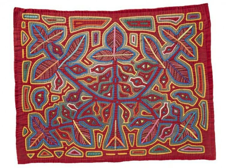 エリザベス・ハンスコレクション  MOLA(モラ)~パナマの先住民クナ族の衣装と意匠~
