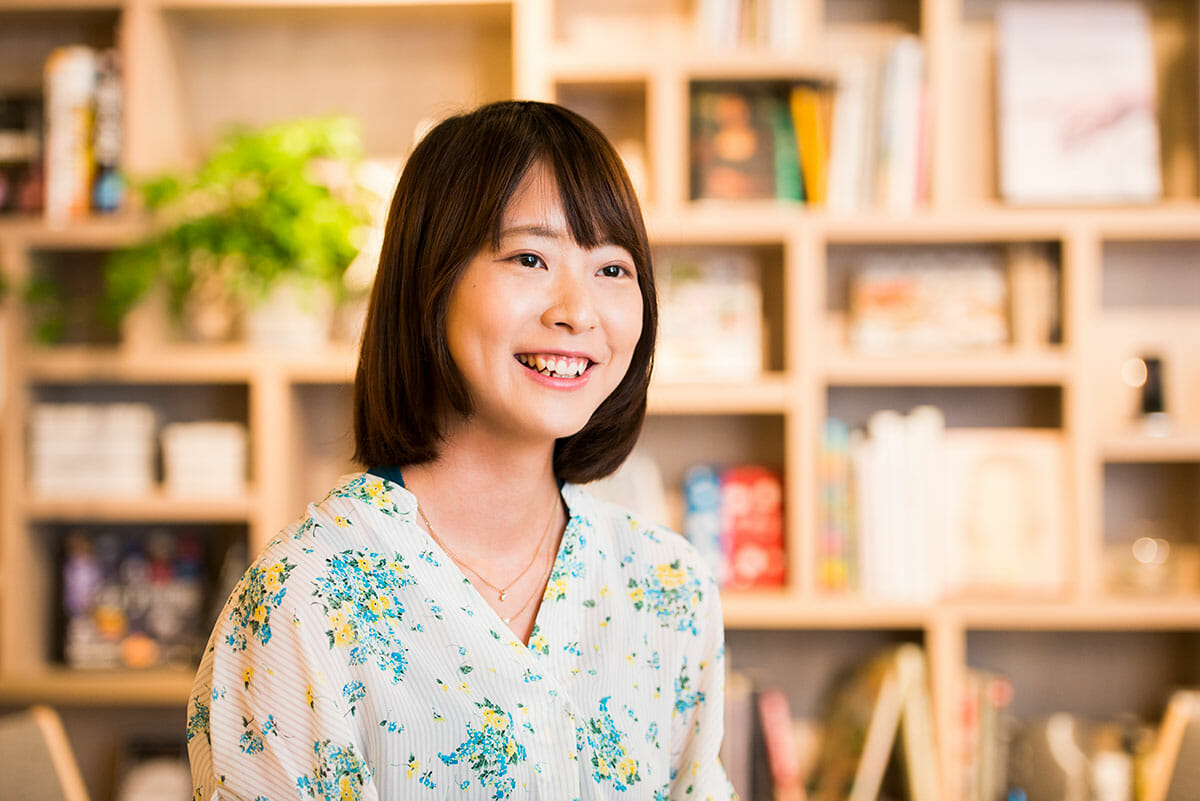 株式会社アカツキ デザイナー 濱田眞子さん