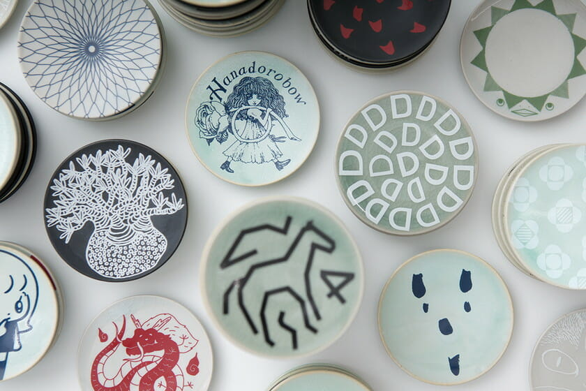 CREATION Project 2018 クリエイターと福島の窯元がつくる「大堀相馬焼167のちいさな豆皿」