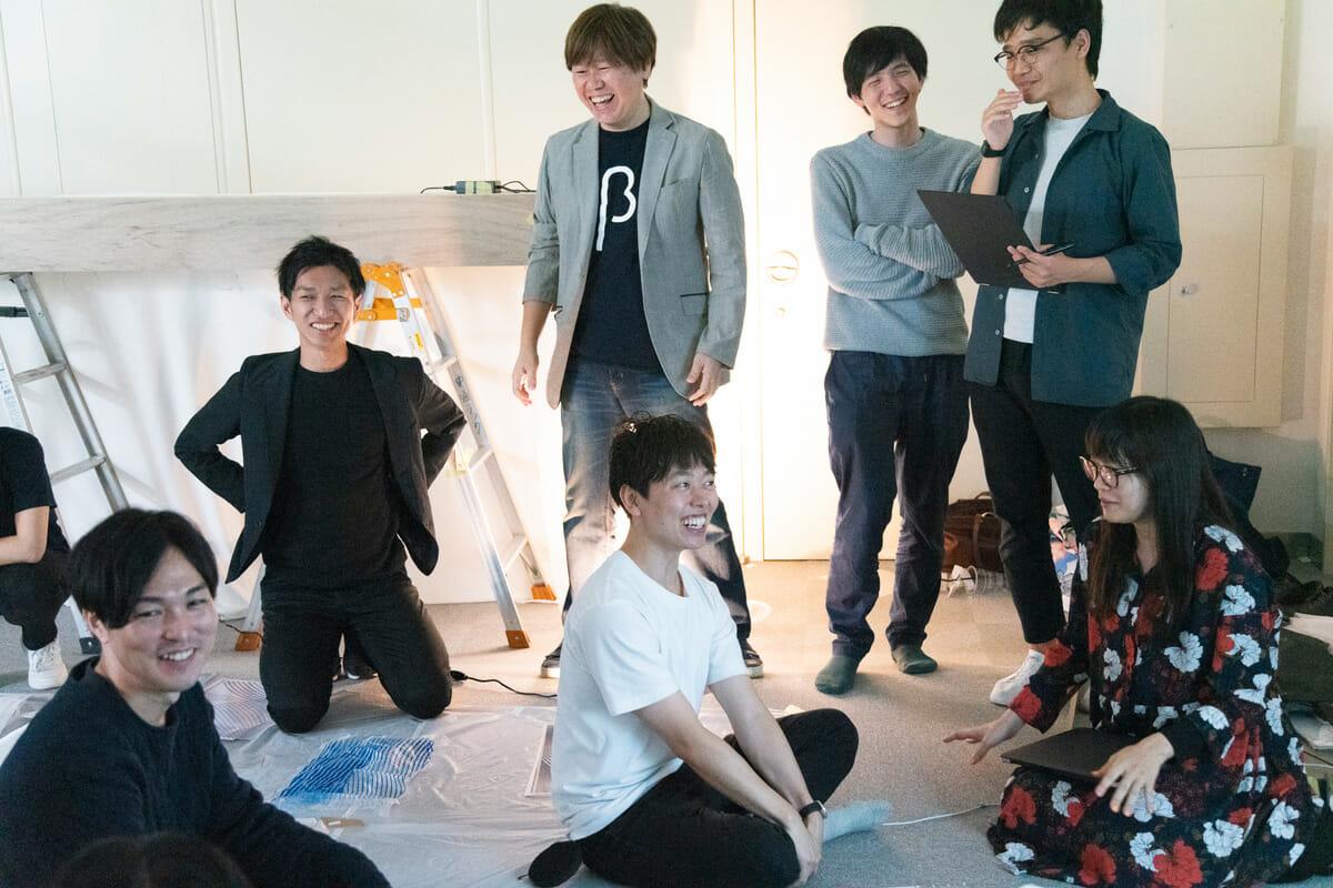 """日本橋に""""未来ののれん""""を掲げ、新しい体験をつくる!「nihonbashi β」制作レポート(1)"""