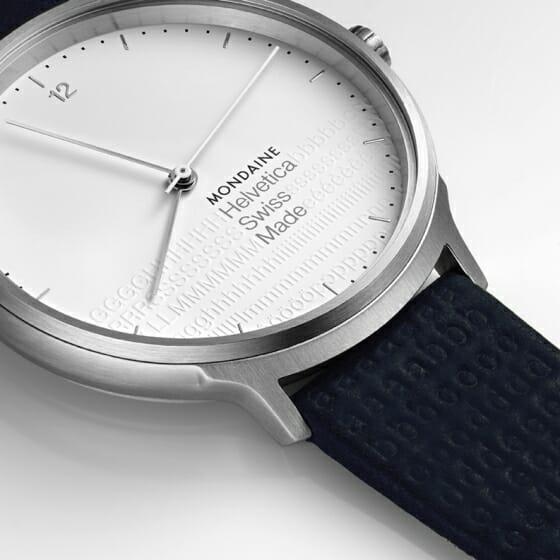 スイスの時計ブランド「モンディーン」から、活版印刷やタイポグラフィーに焦点をあてたスペシャル・エディションが発売