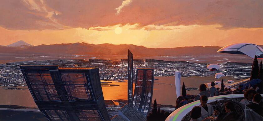 TOKYO 2040 © Syd Mead,Inc.