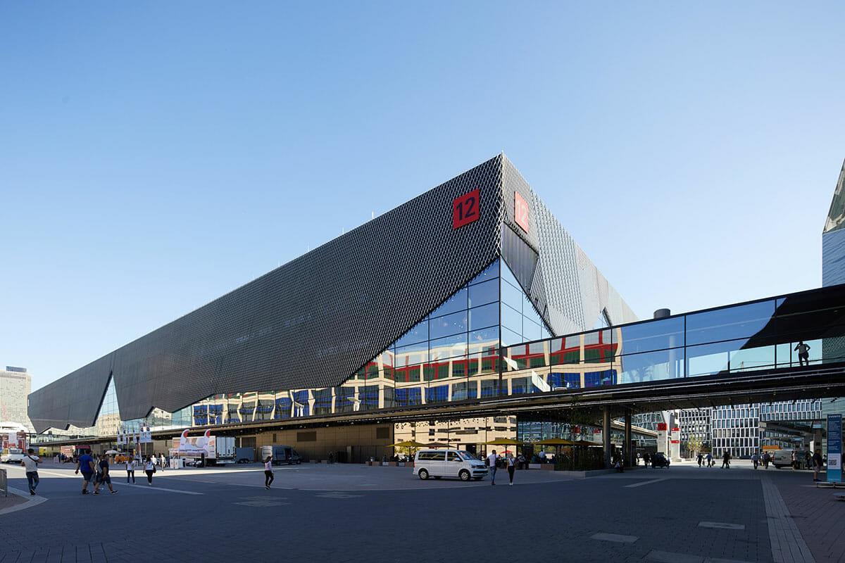 今年からクリスマスワールドの新たな会場として追加される、ホール12