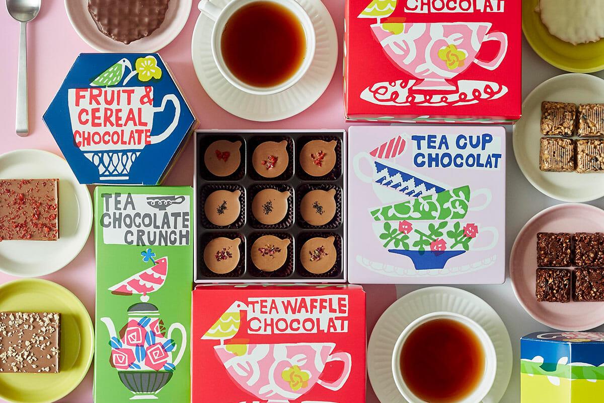 鈴木マサル×Afternoon Tea オリジナルチョコレート