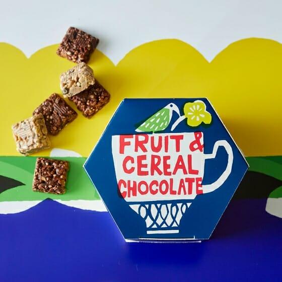 フルーツシリアルチョコレート