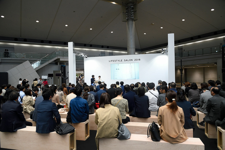 会期中はナカムラケンタさんをはじめ、さまざまな分野の方が登壇するトークショーも開催