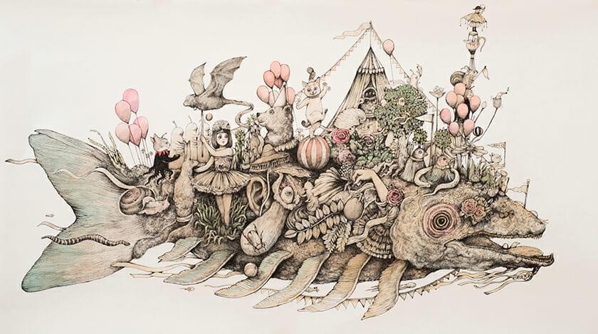 《Circus》2018年 ©Yuko Higuchi