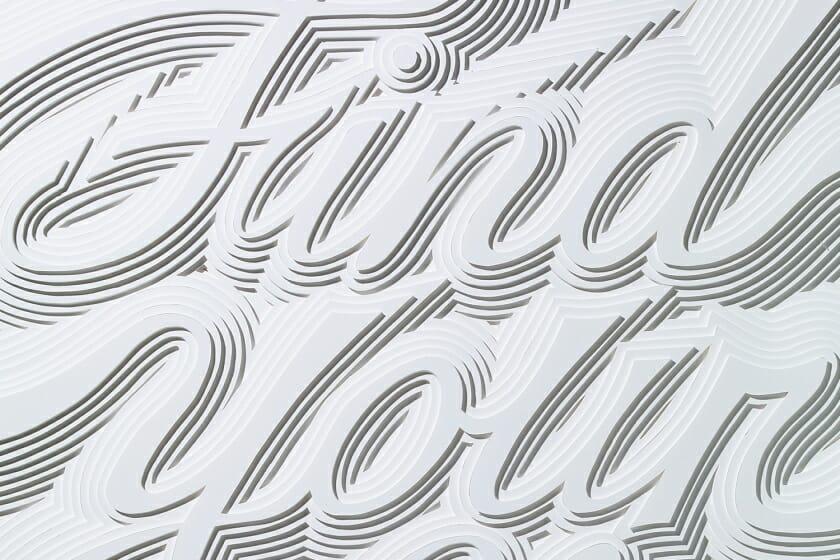 第24回:紙の立体作品「ART BY THE HAND」