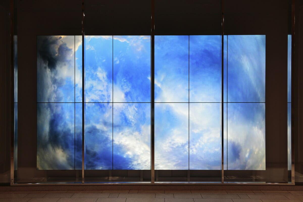 「TOKYO MIDTOWN AWARD 2010 アートコンペ」で佳作を受賞した『es.kei.wai』 撮影:谷裕文