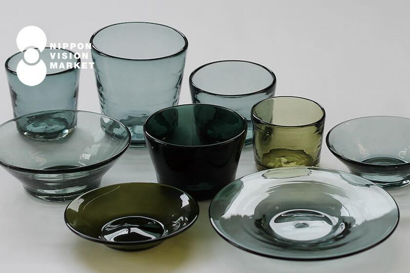 NIPPON VISION MARKET 沖縄のガラス-吹きガラス工房 彩砂のグラスと器-