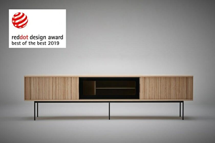 リッツウェル『JABARA AV BOARD』が、世界最大級のデザイン賞「レッドドット・デザイン賞2019」にて「BEST OF THE BEST」を受賞