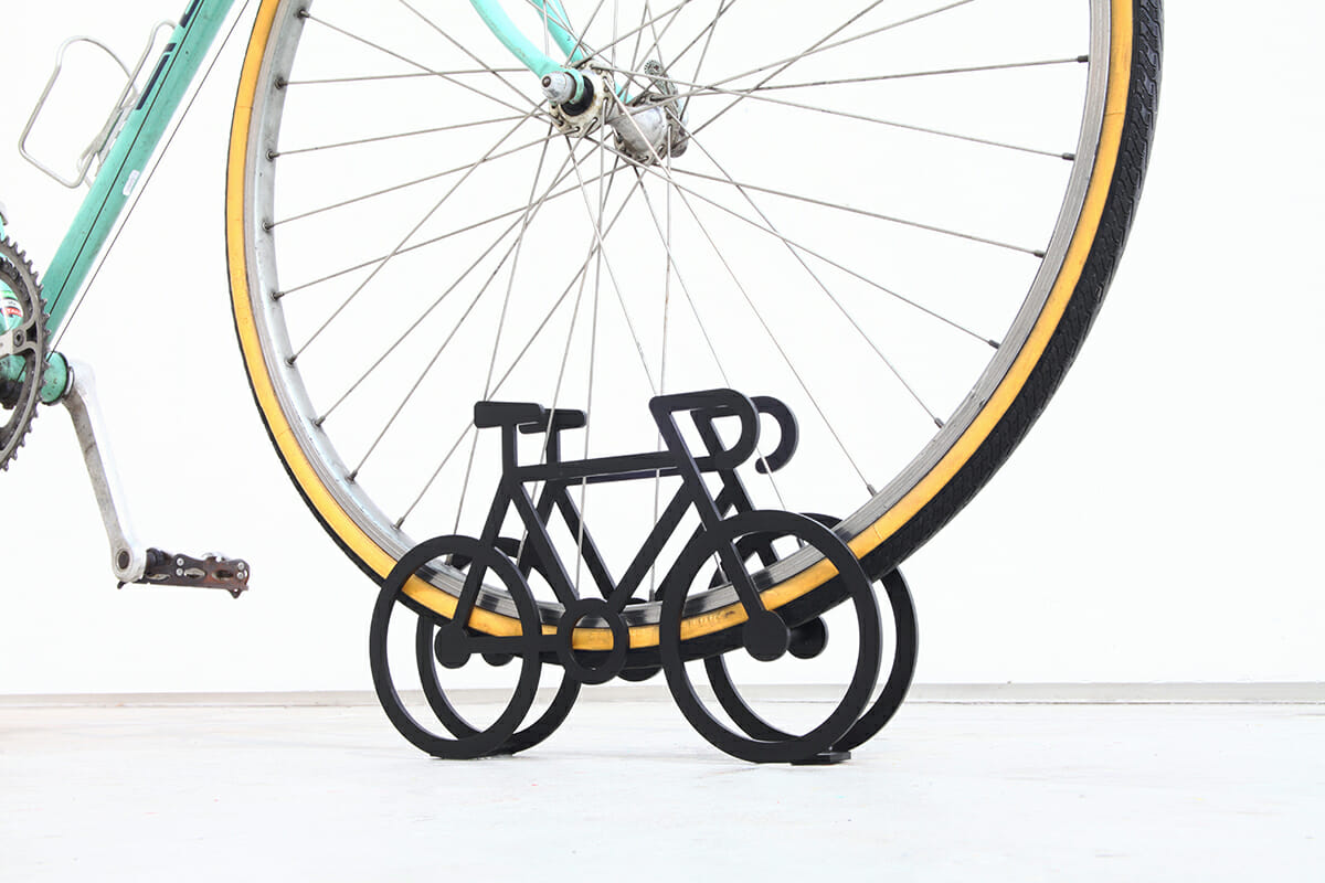 On Bicycle Stand|自転車の自転車スタンド (5)